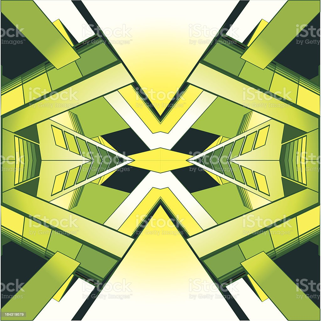 abstract green space royalty-free abstract green space stock vector art & more images of abstract