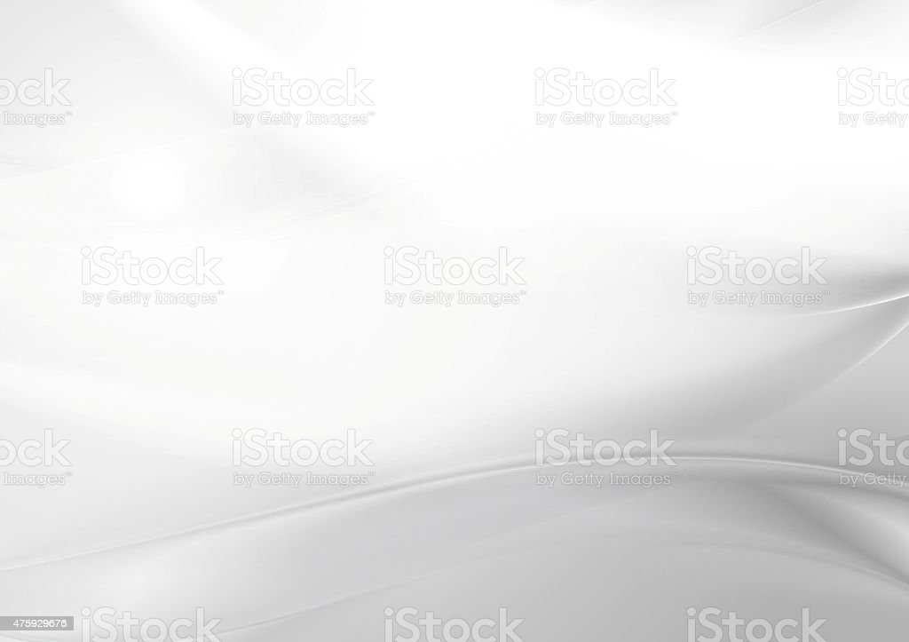Abstract grey pearl smooth waves vector art illustration