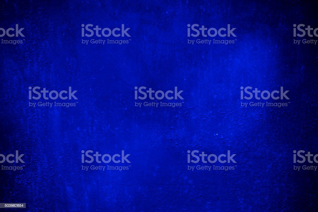 Abstract Grunge Blue Wall Background vector art illustration