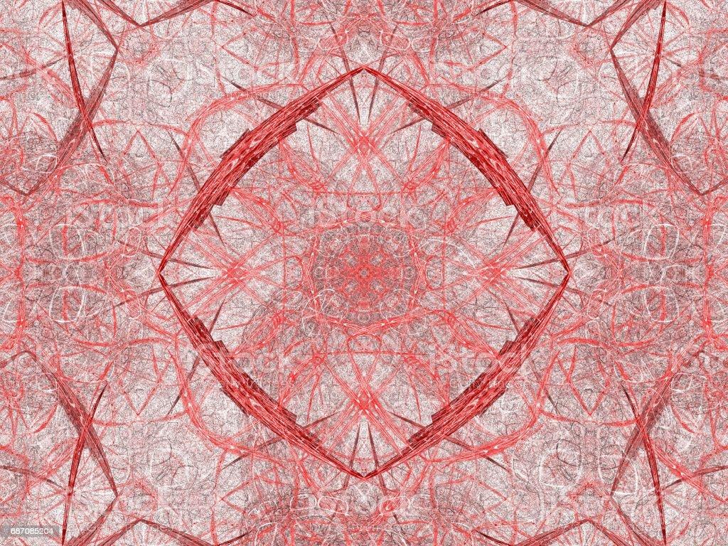 Abstract Grunge schmutzigen roten symmetrisches Muster Lizenzfreies abstract grunge schmutzigen roten symmetrisches muster stock vektor art und mehr bilder von abstrakt