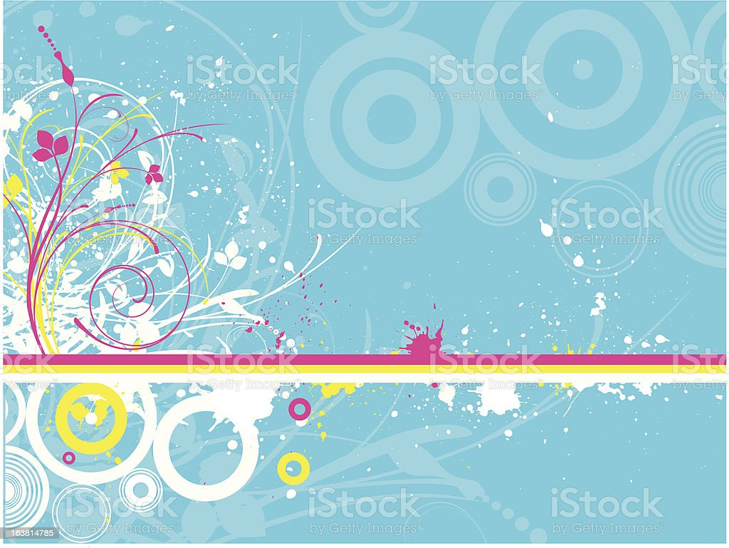 Abstract grunge royalty-free stock vector art