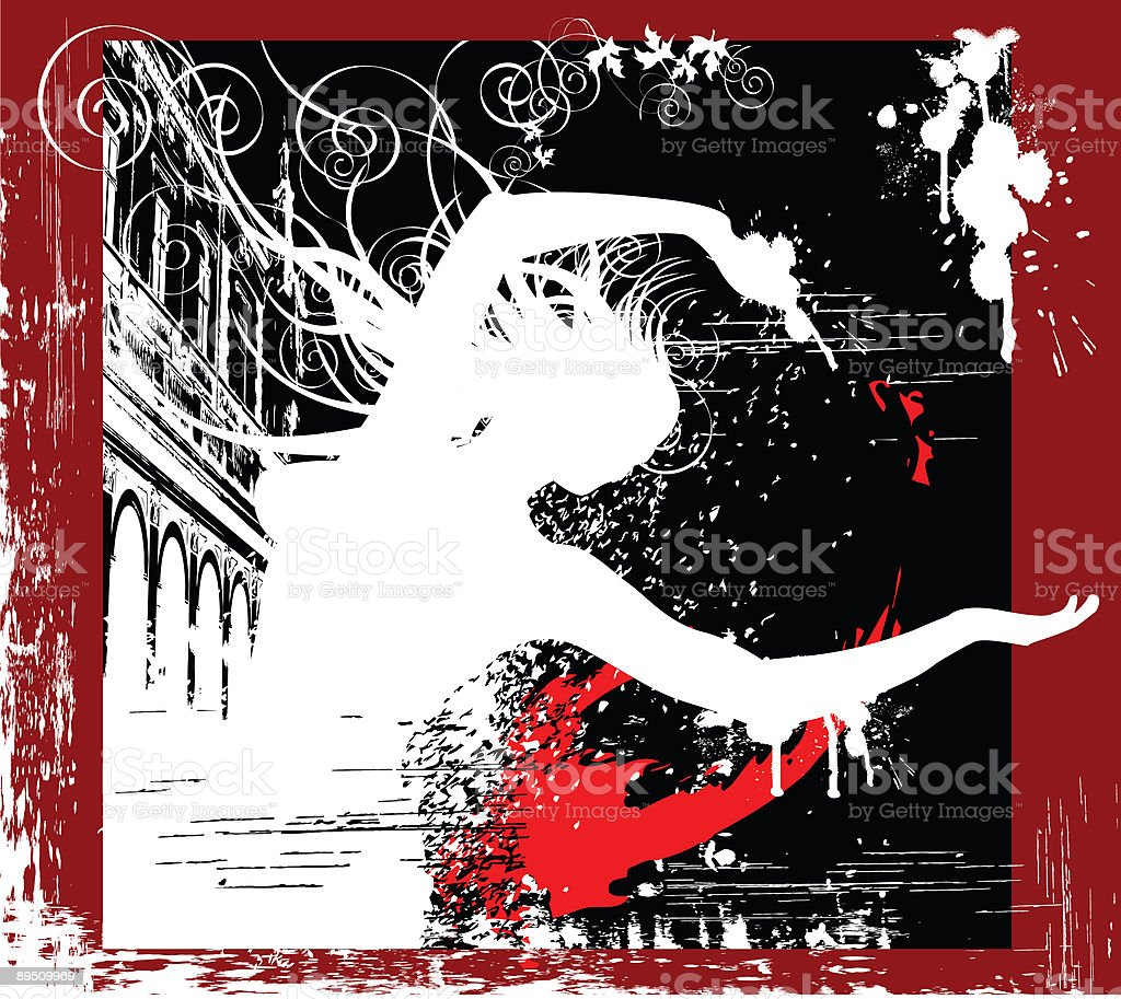 Abstract Grunge Woman royalty-free abstract grunge woman stock vector art & more images of abstract