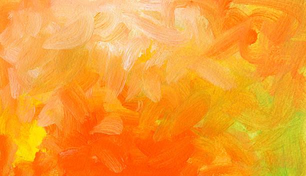 Abstrakte handgemalten Textur mit Farbverlauf – Vektorgrafik