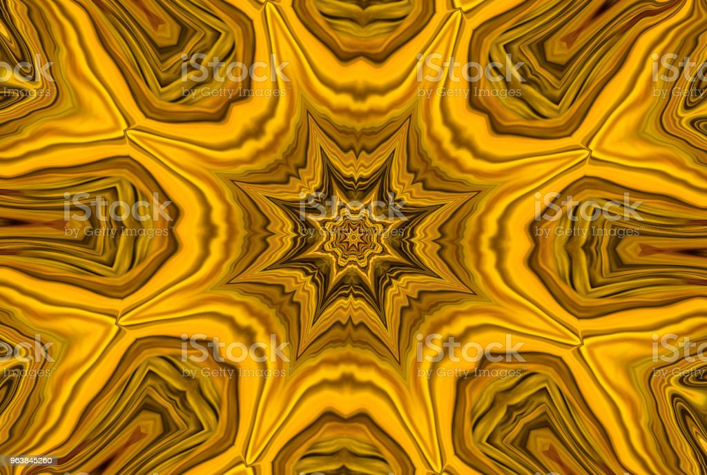 Abstract kaleidoscope background. - Royalty-free Abstract stock illustration