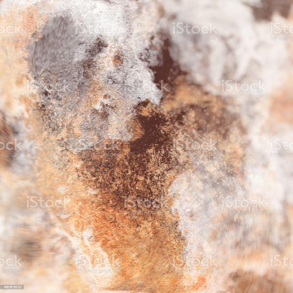 Or Liquide Abstrait Modèle Avec Vagues Abstraites De Doré Et