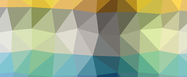 Abstract Lowpoly Triangular Modern Geometric Background Stock Illustration - Download Image Now