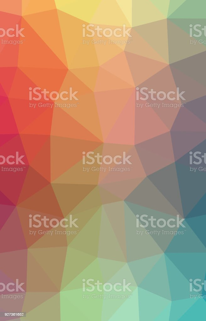 Abstract Low-Poly Triangular Modern Geometric Background Abstract Low-Poly Triangular Modern Geometric Background. Colorful Polygonal Mosaic Pattern Template. Repeating Routine With Triangles. Origami Style With Gradient. Futuristic Design Backdrop Abstract stock illustration