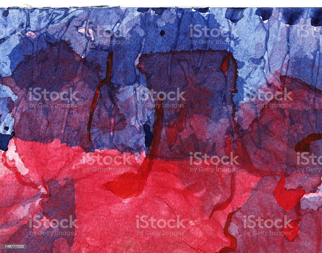 Abstract Mixed Media Background vector art illustration