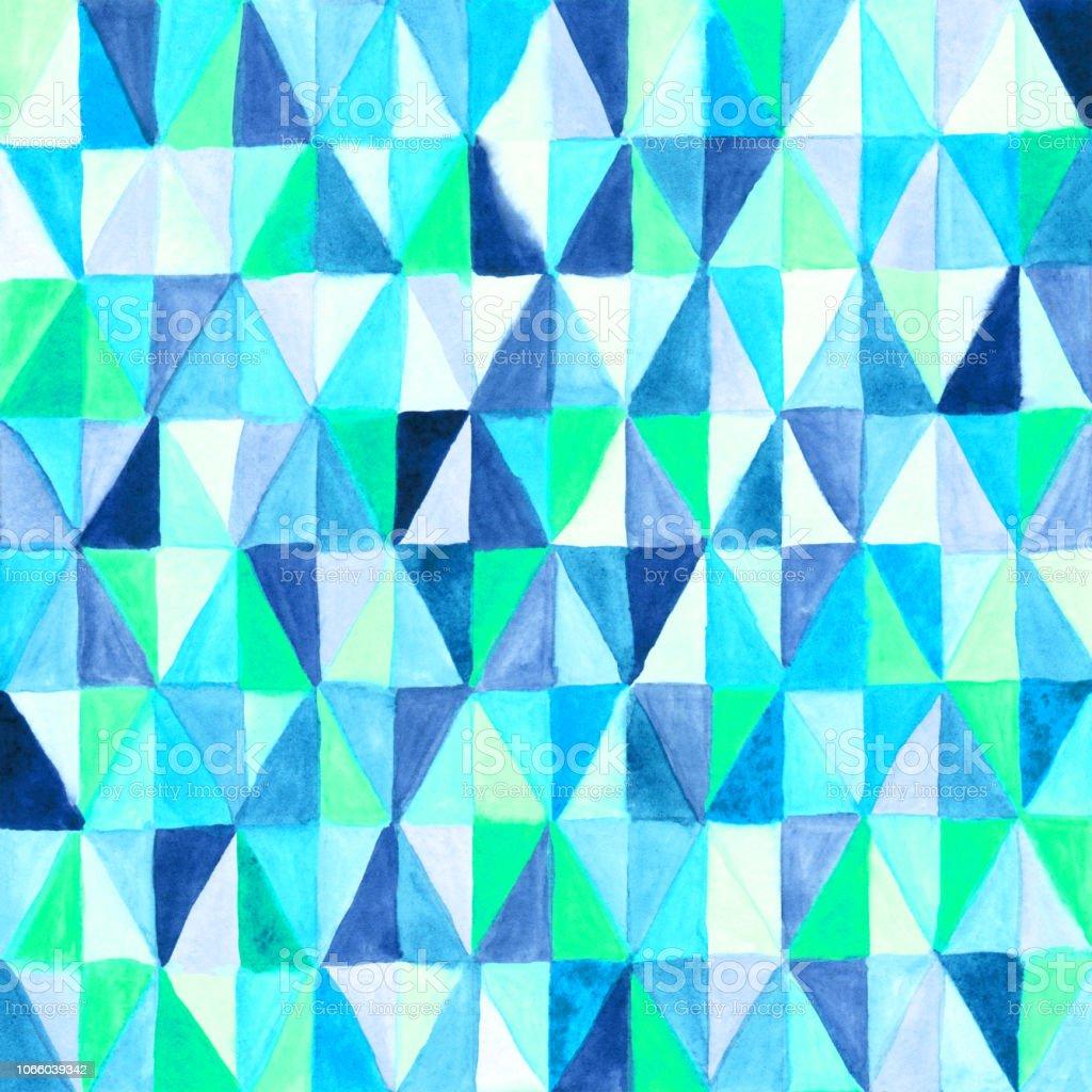 Patrón de vitral mosaico abstracto - ilustración de arte vectorial