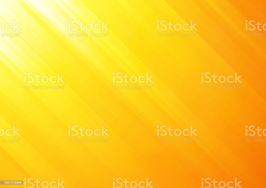 Orange Abstract Vector Hintergrund Mit Streifen Stock Vektor
