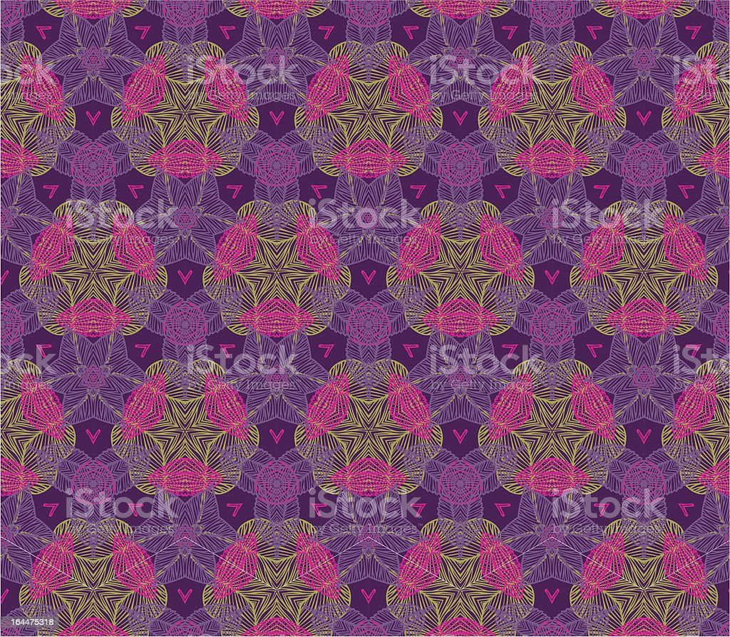abstract ornate texture vector art illustration