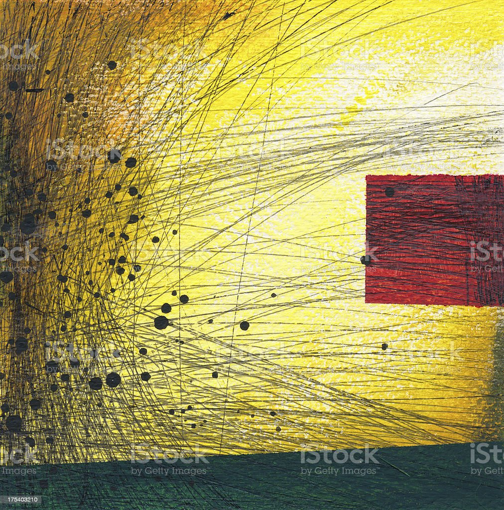 Abstract painted background royalty-free stock vector art