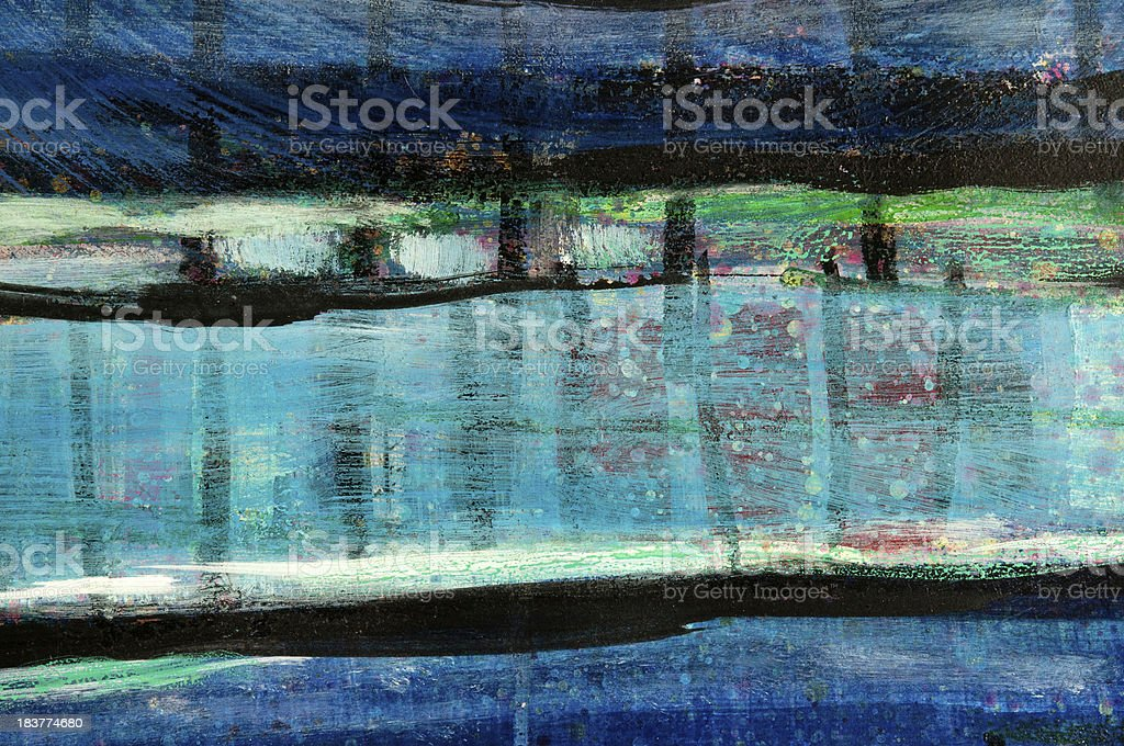 Abstract Painting Background royalty-free stock vector art