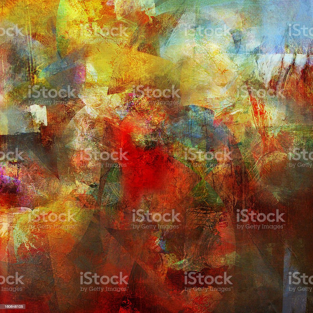 abstract painting royalty-free abstract painting stock vector art & more images of abstract