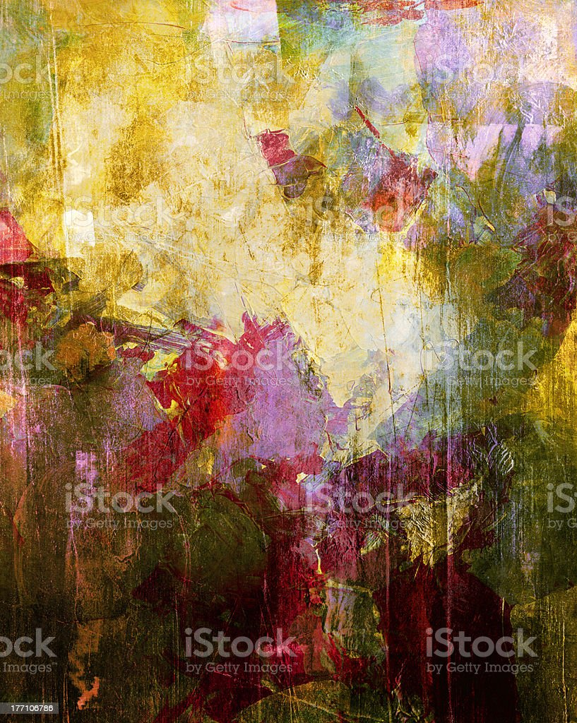 abstract painting royalty-free stock vector art
