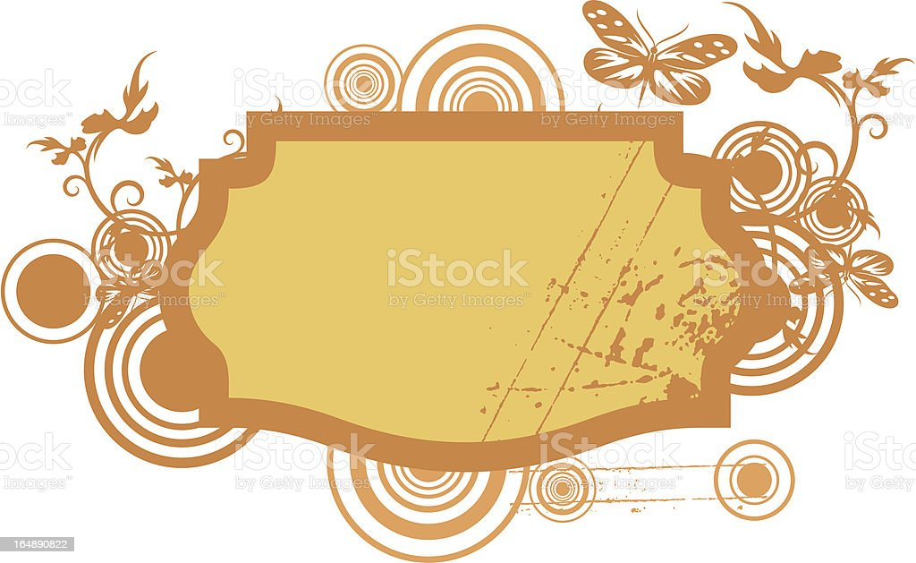 Abstract Panel & Background Series royalty-free stock vector art
