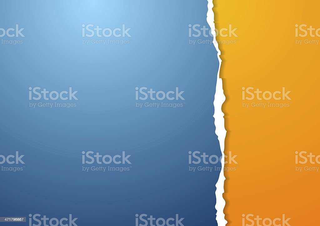 Abstract paper background vector art illustration