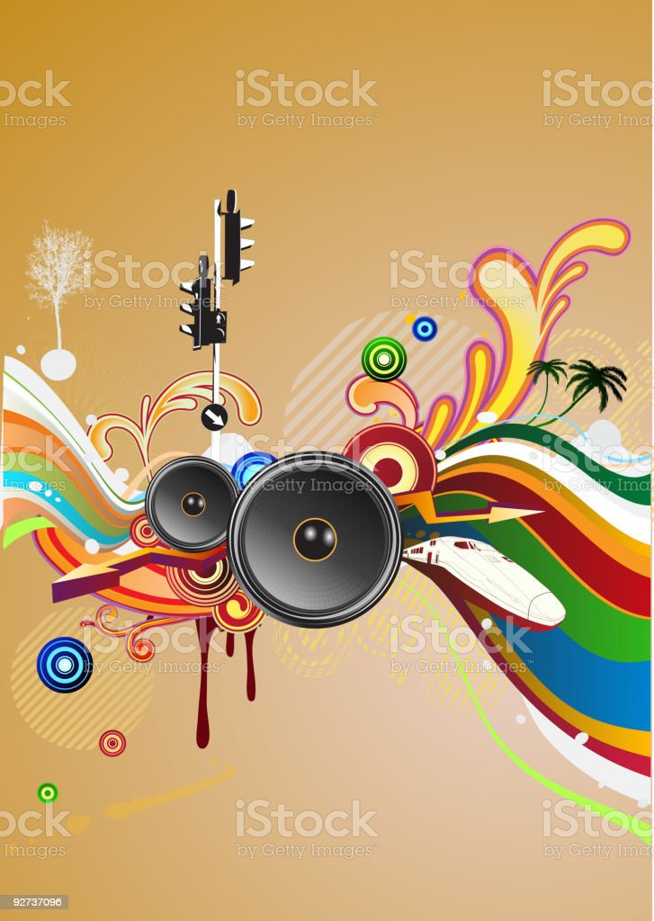 abstract party design - Royalty-free Abstract stock vector