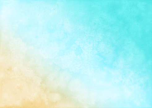Abstract Pastel Watercolor Background Summer Beach Background Stock Illustration Download Image Now Istock