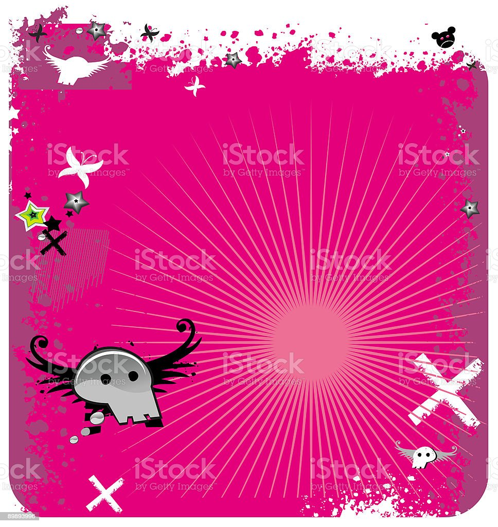 Abstract  pink  background royalty-free abstract pink background stock vector art & more images of animal skull