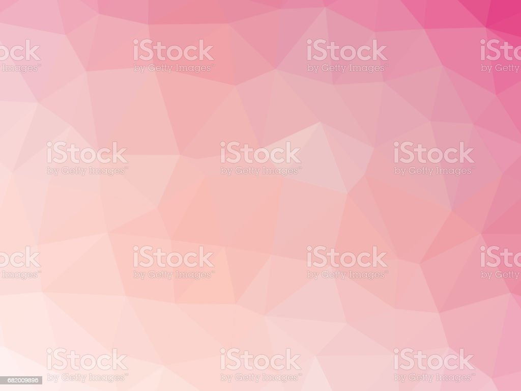 Abstract pink gradient polygonal background vector art illustration
