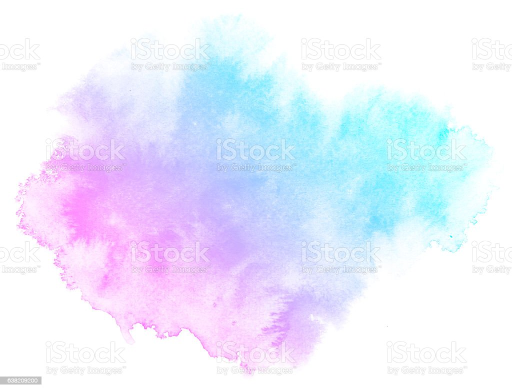 Abstract pink watercolor background. vector art illustration