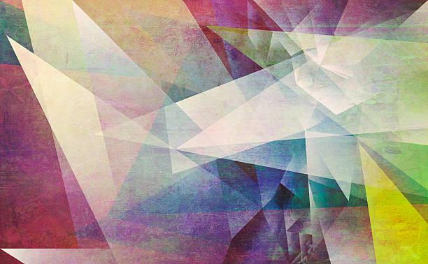 Abstrakte polygonal Illustrationen – Vektorgrafik