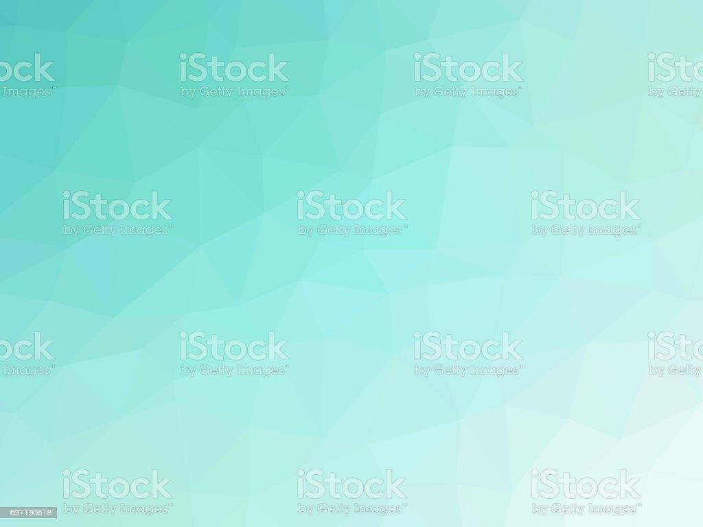 Abstract polygonal fondo azul - ilustración de arte vectorial