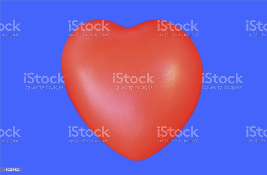 Abstract red heart on blue background royalty-free abstract red heart on blue background stock vector art & more images of abstract