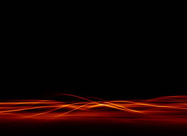Abstract - Red Plasma 3 vector art illustration