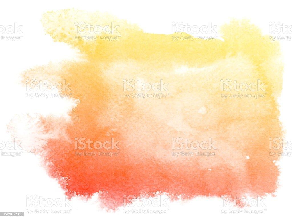 Abstrato vermelho fundo aquarela. - ilustração de arte em vetor