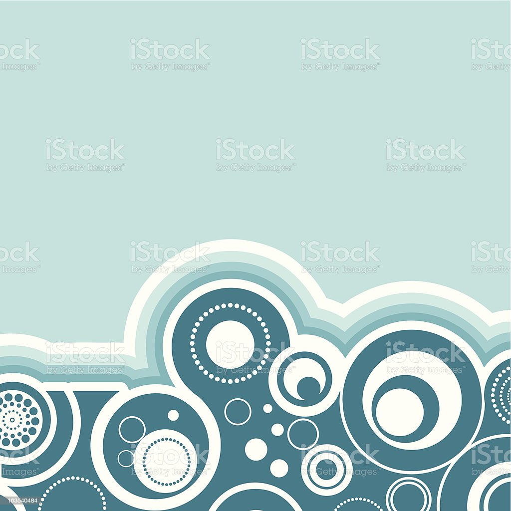 Abstract retro royalty-free stock vector art
