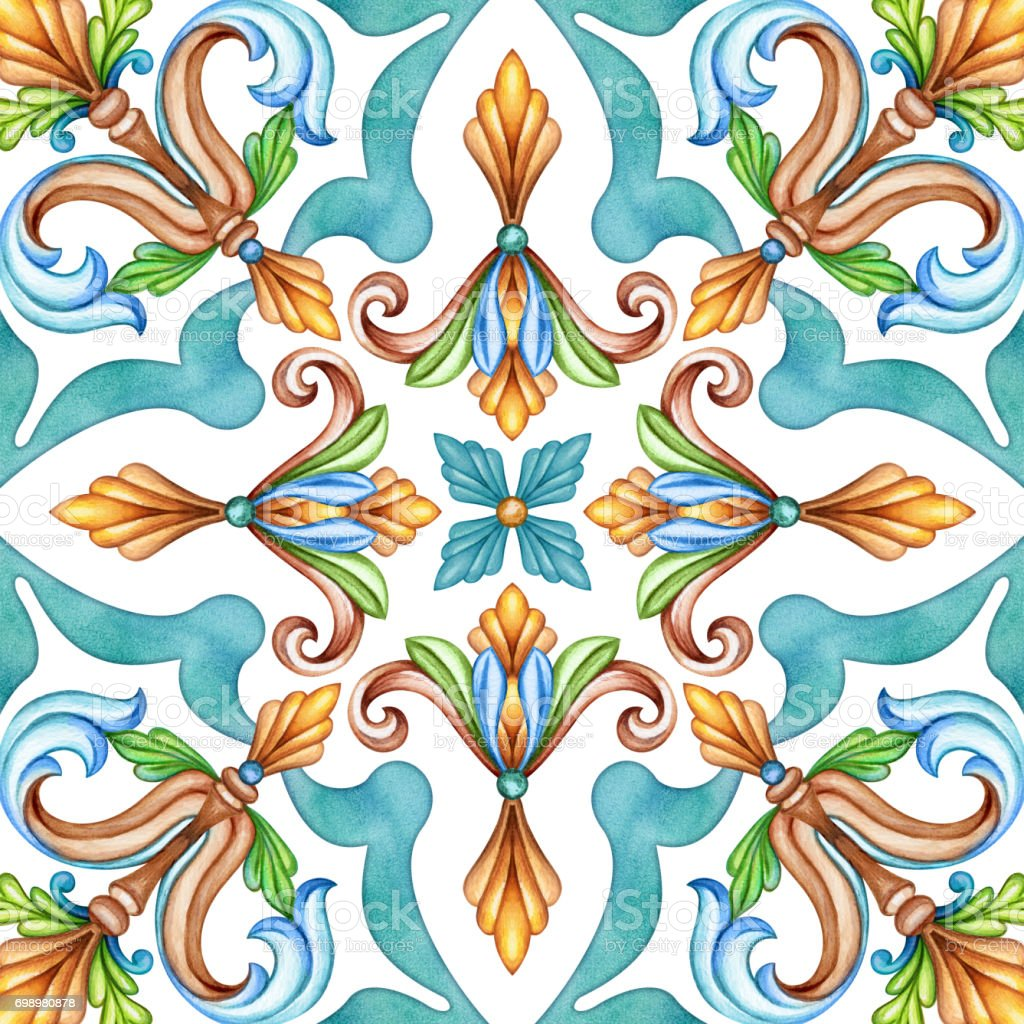 Abstract seamless classic pattern antique mosaic ornament medieval abstract seamless classic pattern antique mosaic ornament medieval acanthus background mosaic ceramic tile dailygadgetfo Images