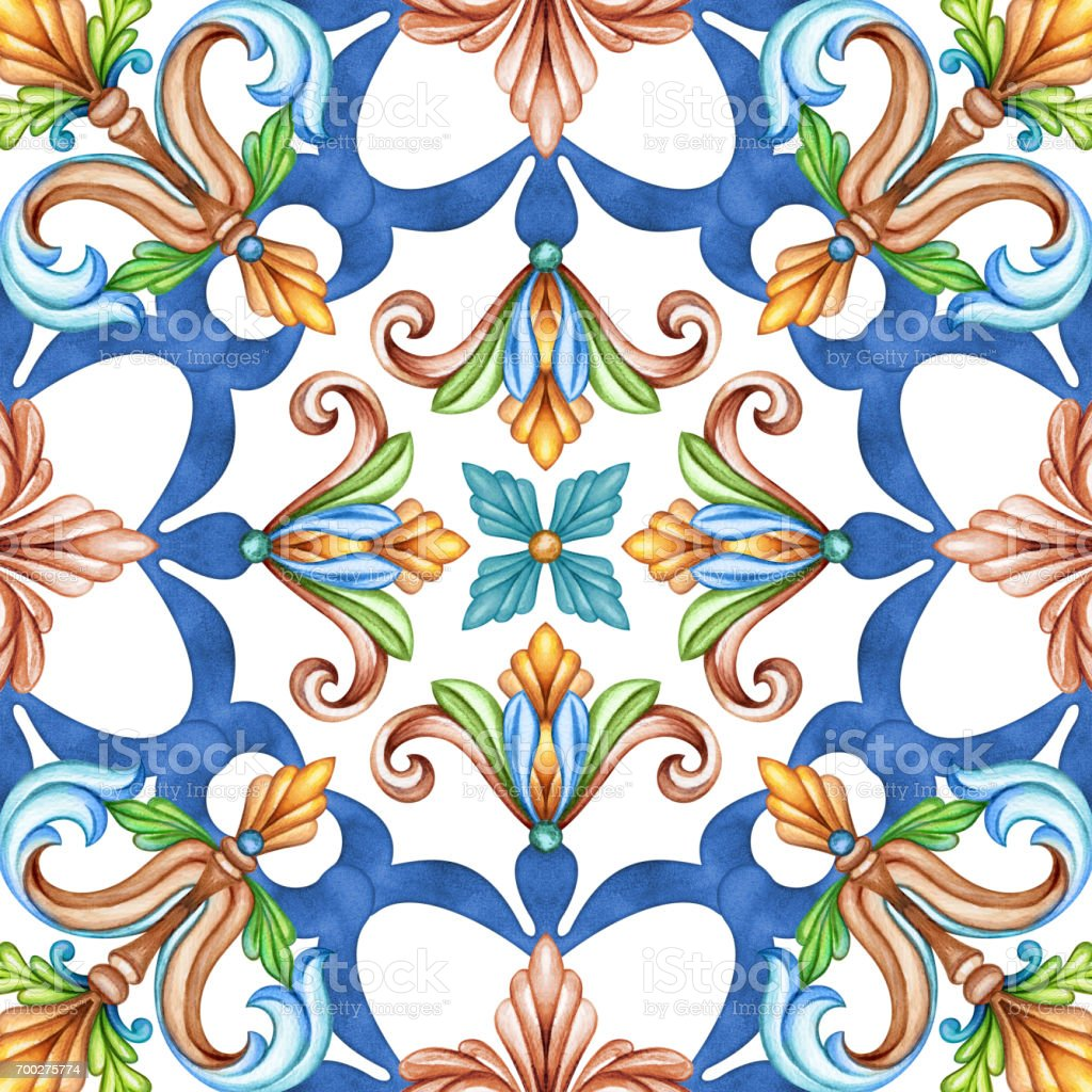 Abstract seamless pattern classic design antique mosaic ornament abstract seamless pattern classic design antique mosaic ornament medieval acanthus background mosaic dailygadgetfo Images