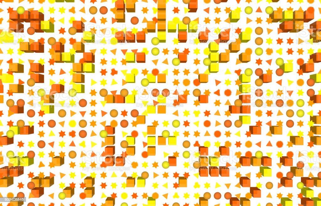 Web Sayfasi Duvar Kagidi Veya Grafik Tasarim Icin Soyut Sekli