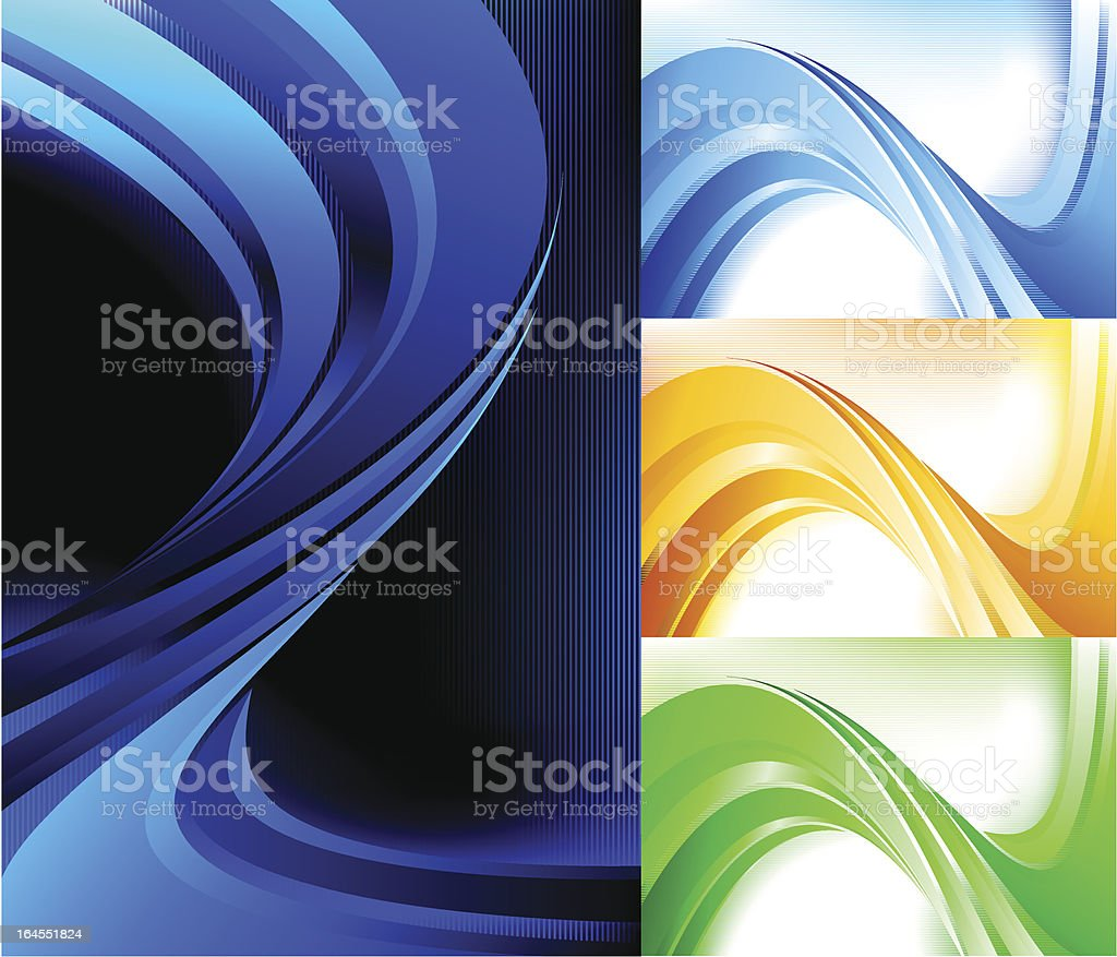 Abstract shape on stripped background. royalty-free abstract shape on stripped background stock vector art & more images of abstract