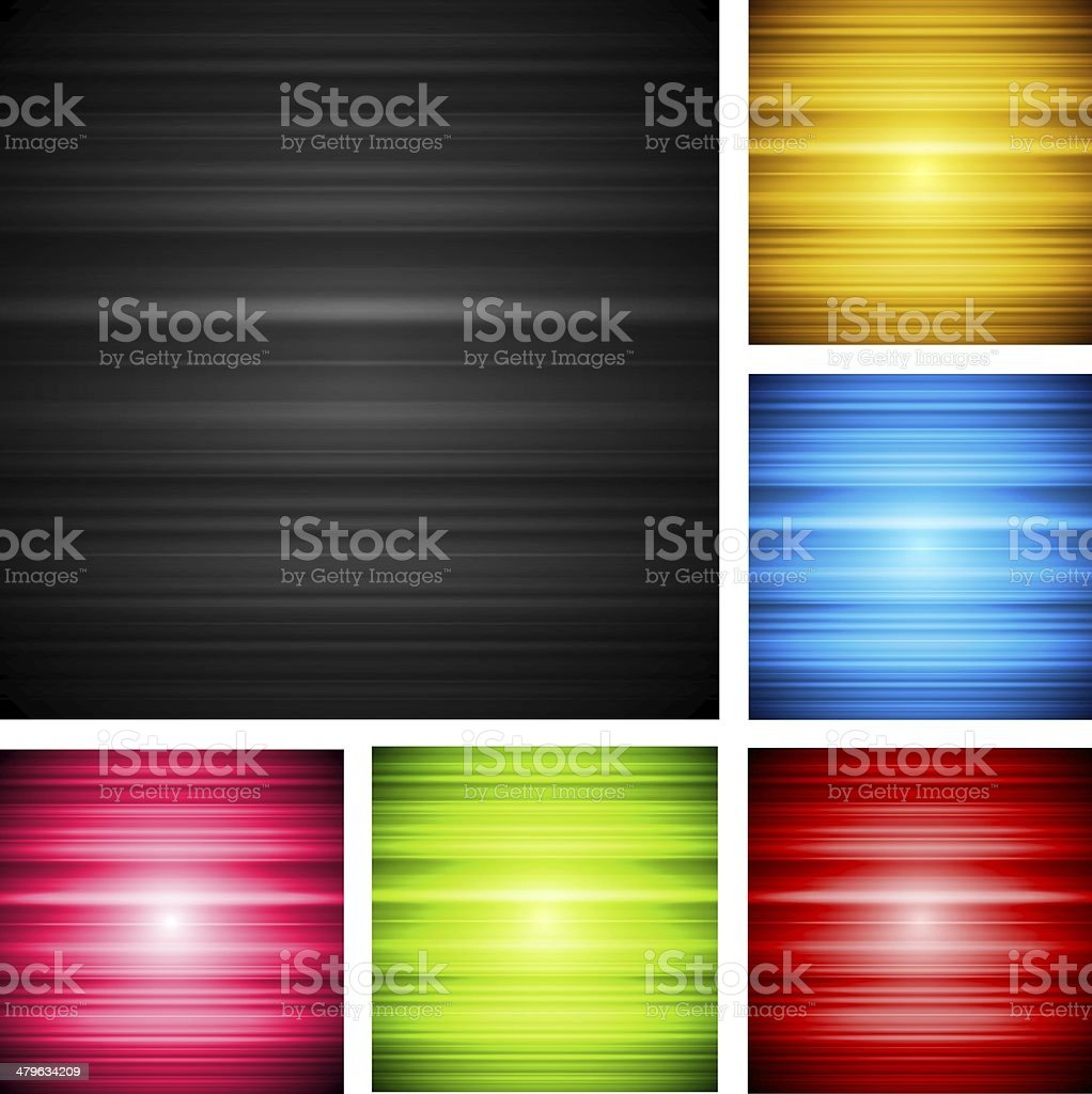 Abstract shiny design vector art illustration