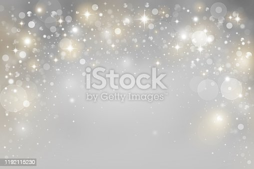 istock Abstract silver bokeh background 1192115230