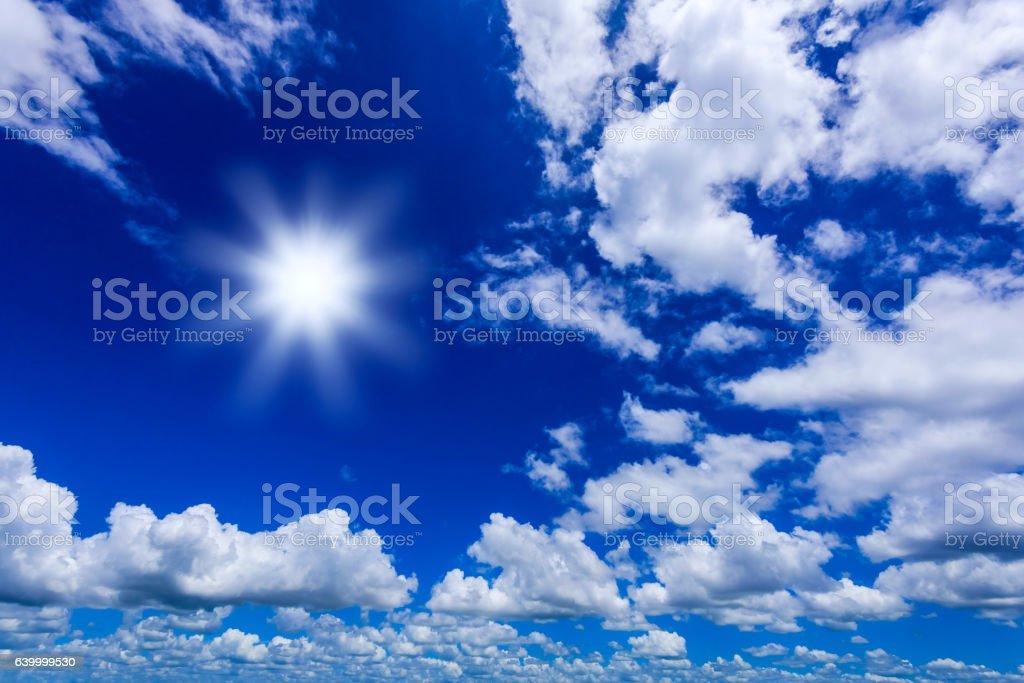 abstract sky cloud vector art illustration