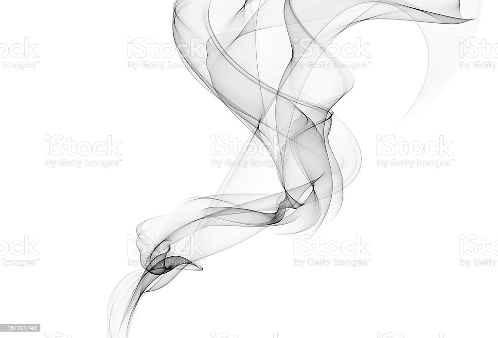 Abstract smoke vector art illustration