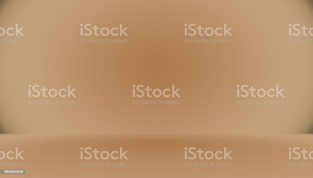 Abstract glad bruin muur achtergrond lay-outontwerp, studio, kamer, websjabloon, bedrijfsrapport met gladde cirkel kleur voor de kleurovergang - Royalty-free Achtergrond - Thema Stockillustraties