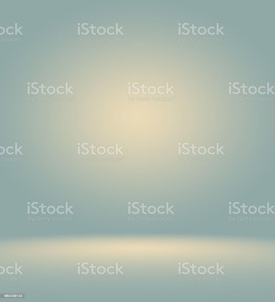 Abstrato azul liso escuro com preta vinheta estúdio bem usar como plano de fundo, relatório de negócios, digital, modelo de site, pano de fundo. - Ilustração de Branco royalty-free