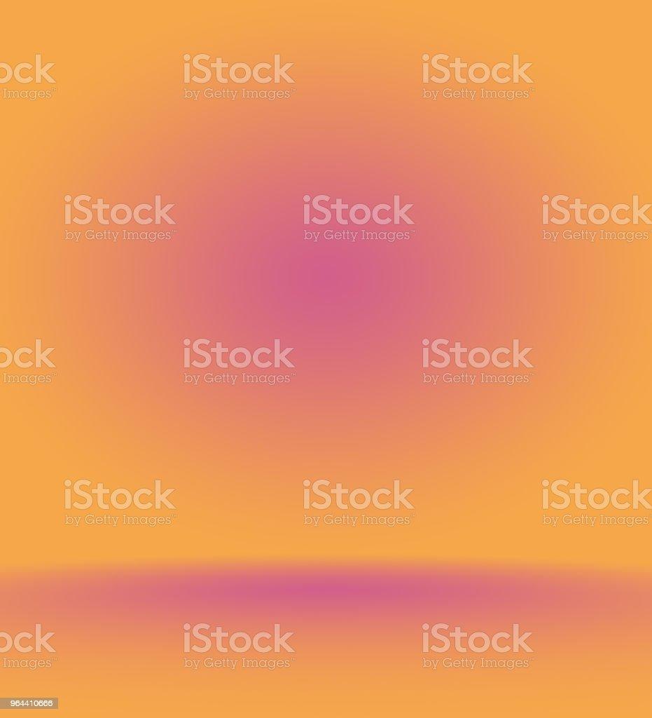 Abstract gladde oranje achtergrond lay-outontwerp, studio, kamer, websjabloon, bedrijfsrapport met gladde cirkel kleur voor de kleurovergang - Royalty-free Achtergrond - Thema Stockillustraties