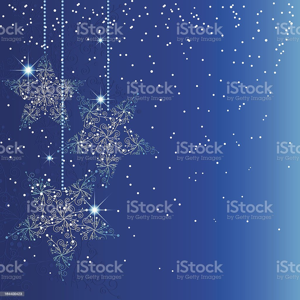 Abstract sparkling blue christmas star background royalty-free abstract sparkling blue christmas star background stock vector art & more images of abstract