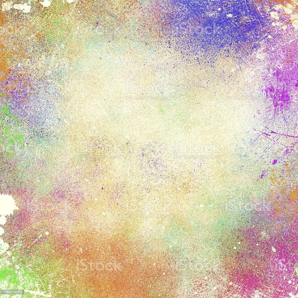 Abstract Splatter Paint Background vector art illustration