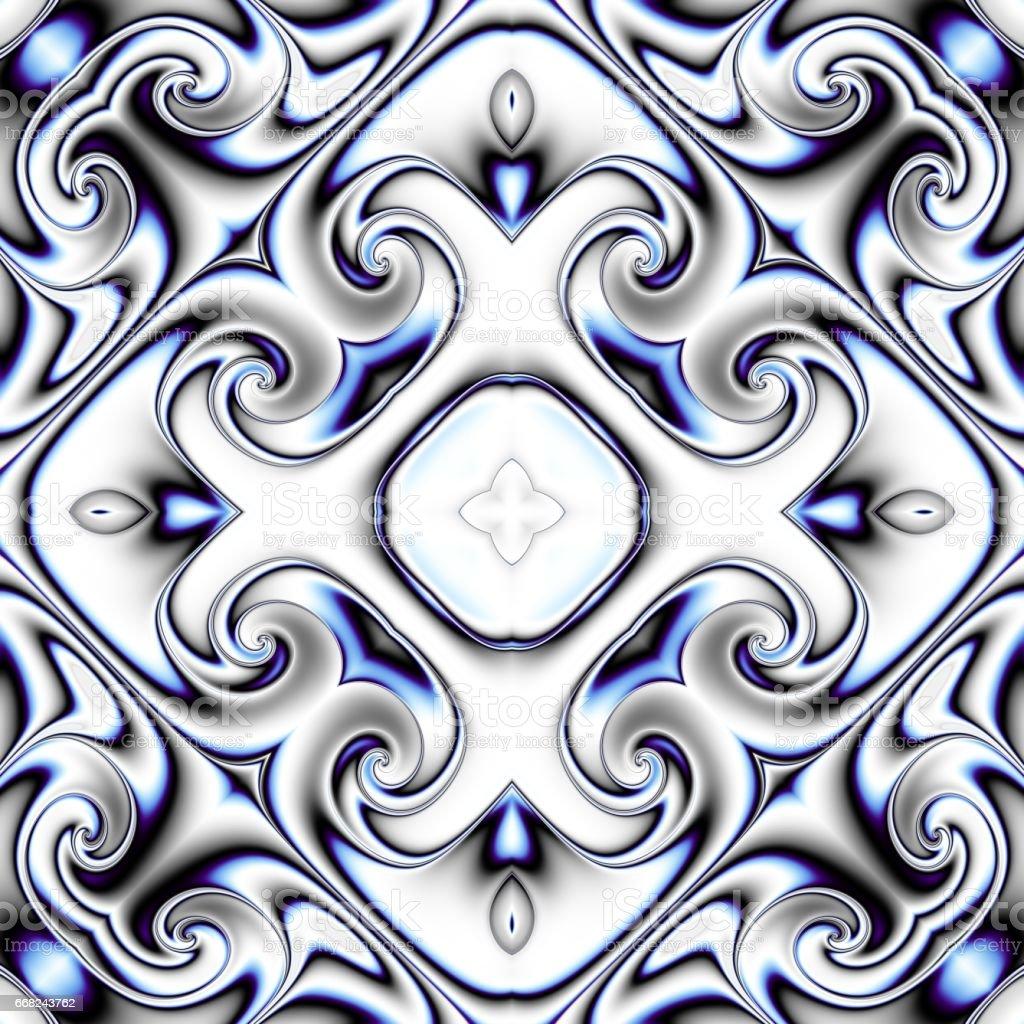 Abstract symmetric pattern abstract symmetric pattern - immagini vettoriali stock e altre immagini di arte, cultura e spettacolo royalty-free