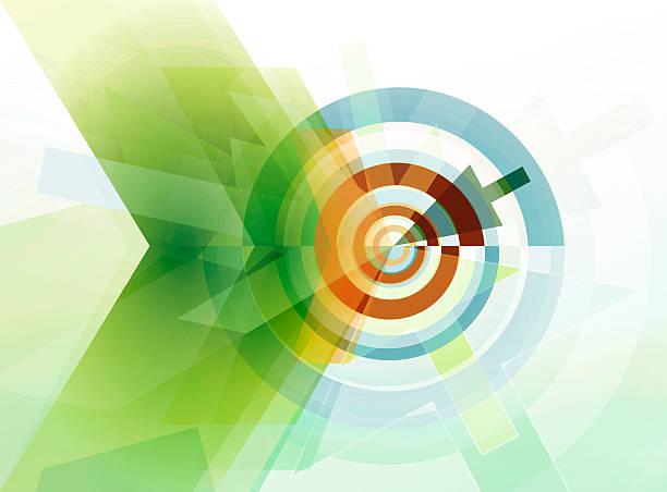 Abstrakte Ziel-Konzept – Vektorgrafik
