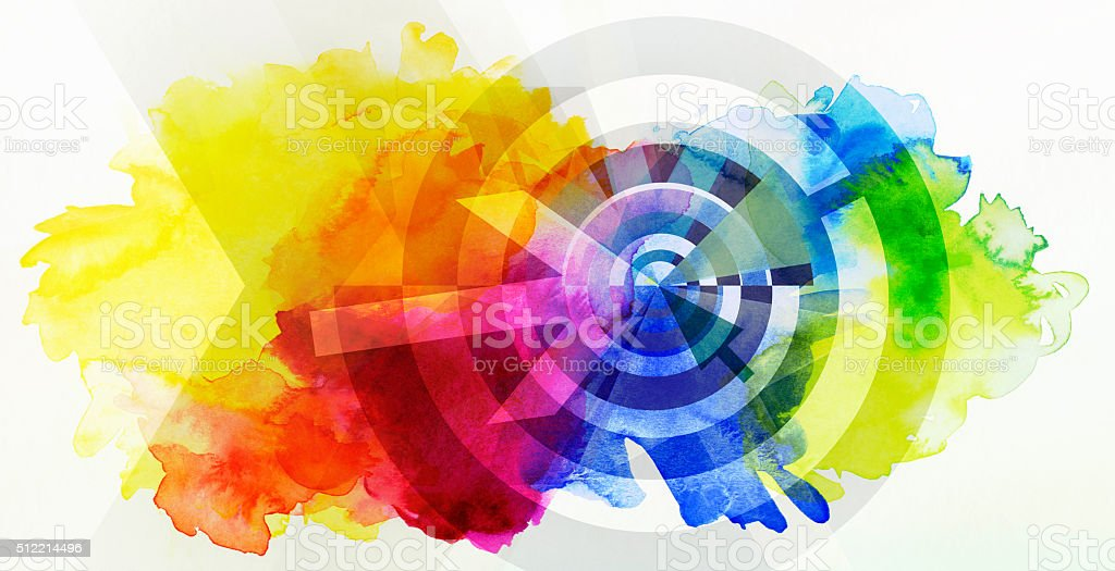 abstract target concept stock vector art more images of abstract