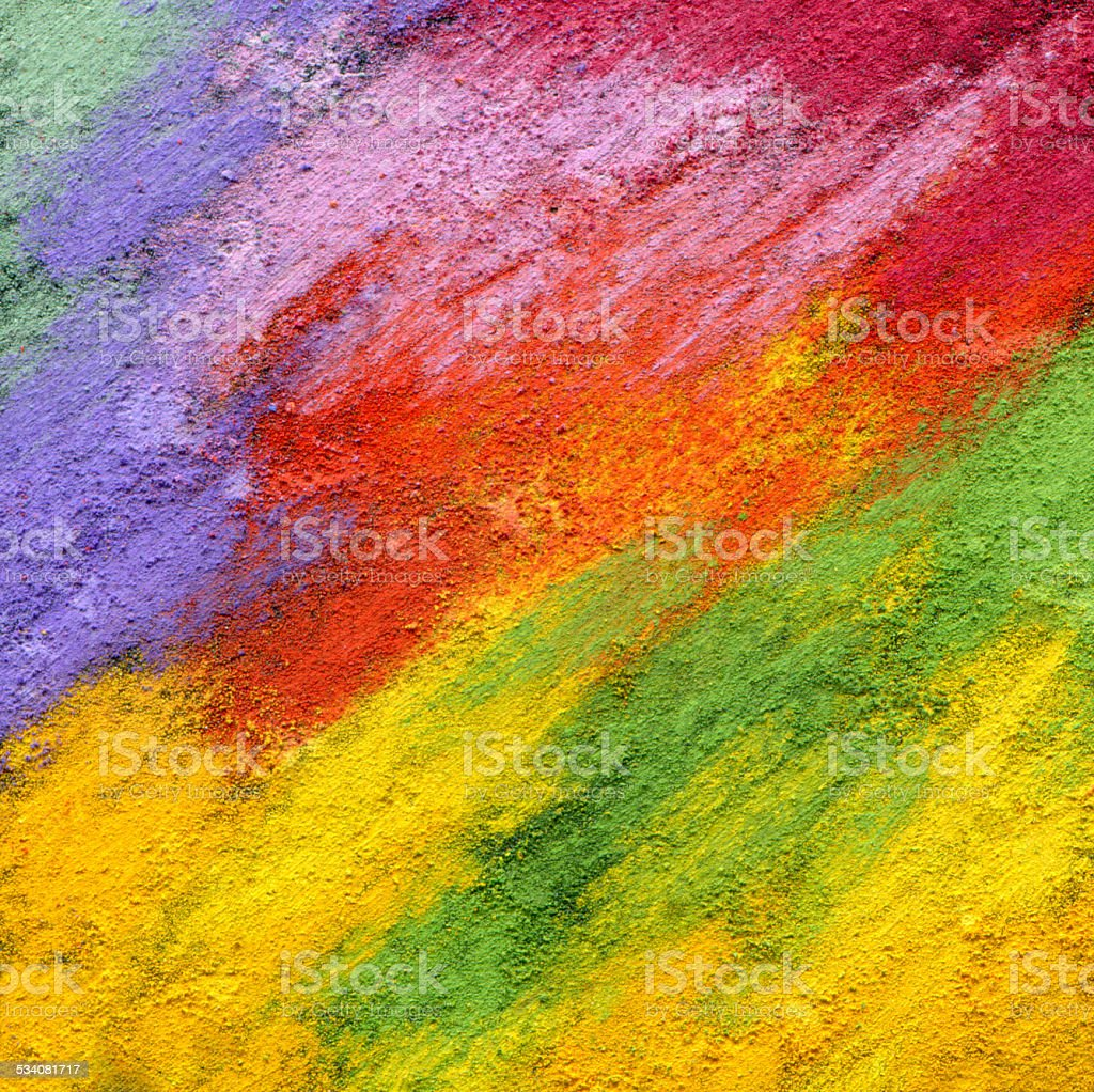 Abstract textured acrylic and oil pastel  background. vector art illustration