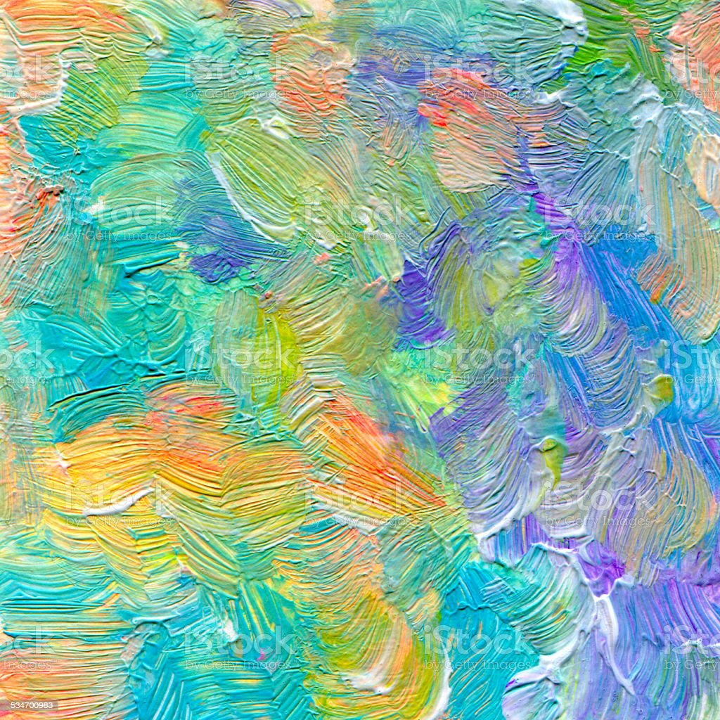 Abstract textured acrylic and watercolor  background. vector art illustration